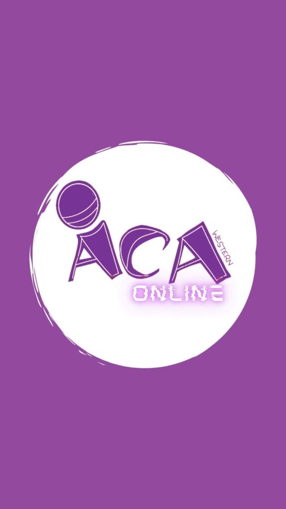 A Cappella Association of Western_Logo