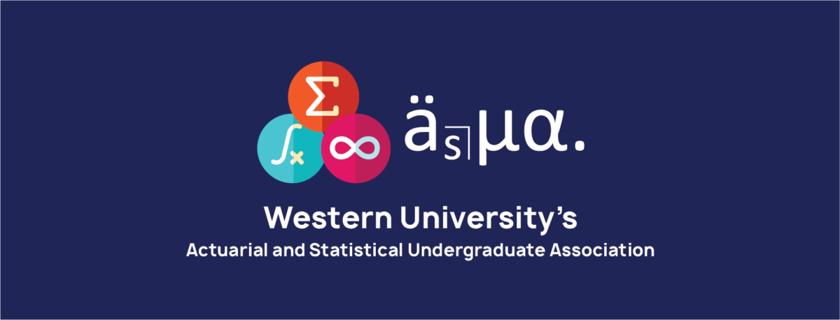 Logo - Actuarial and Statistical Undergraduate Association